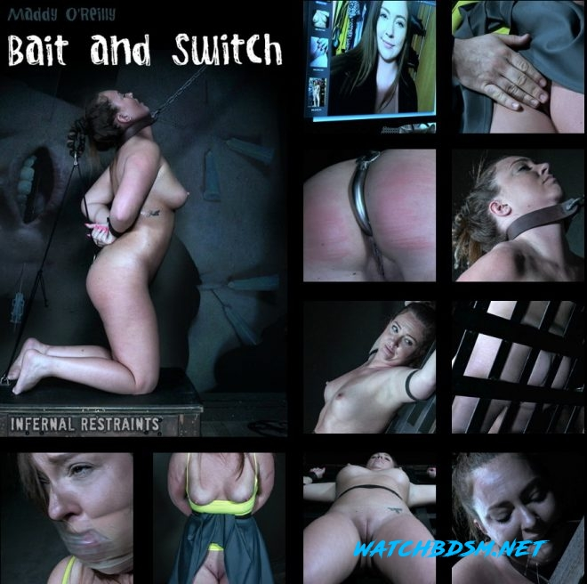 Bait and Switch | Maddy O'Reilly/Maddy comes for a bondage shoot and gets something more horrific! - HD - INFERNAL RESTRAINTS