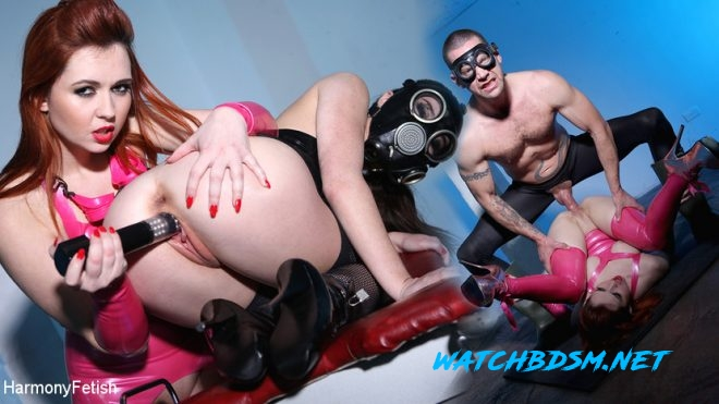 Angell Summers, Tiffany Doll, Jay Snakes - Gas Masks and Gyno Chair - HD - HARMONY FETISH