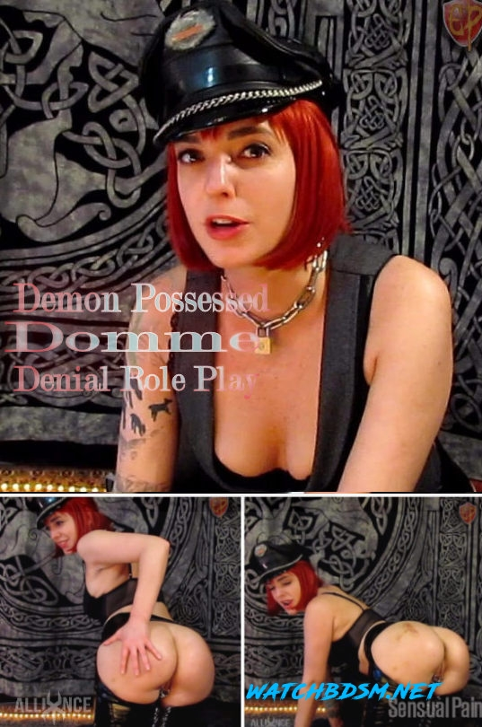 Abigail Dupree - Demon Possessed Domme Denial Role Play - FullHD