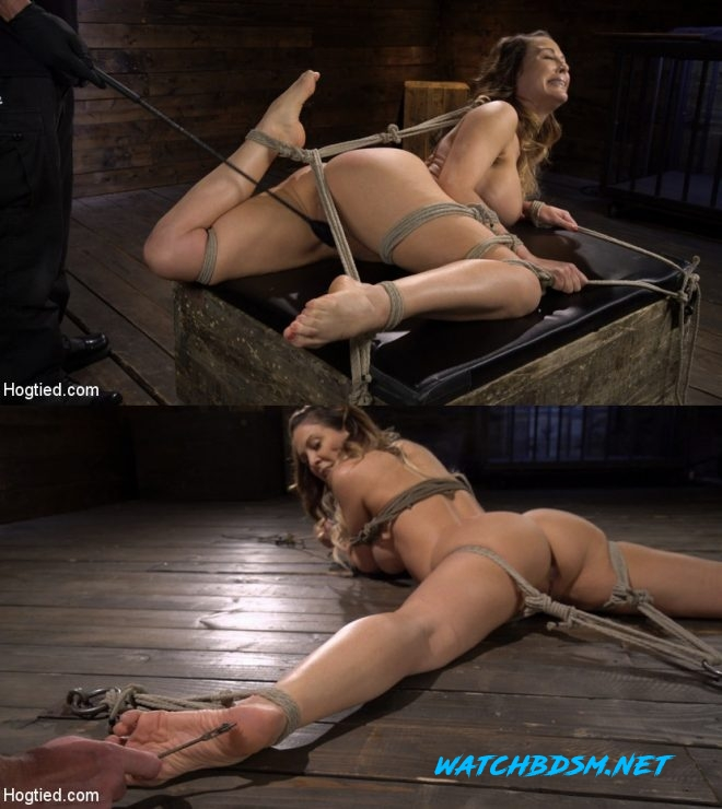 Cherie DeVille - Blond MILF Cherie DeVille in Grueling Bondage Made to Endure Torment - HD - HOGTIED