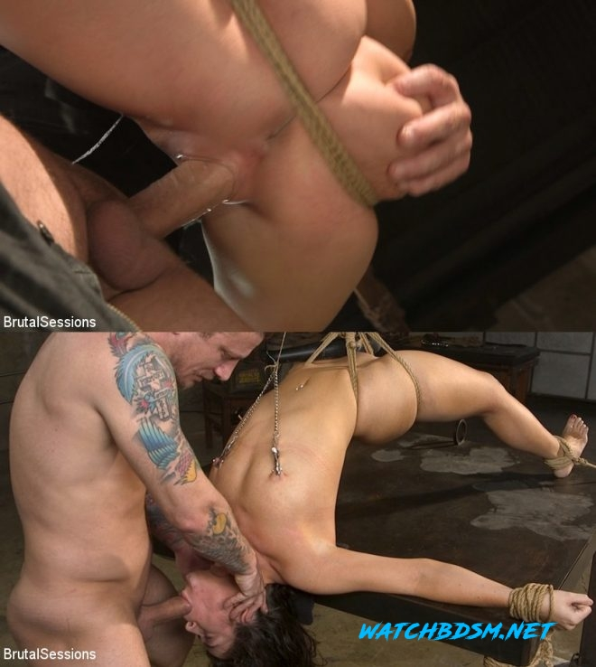Mr. Pete, Victoria Voxxx - All Natural BDSM Slut Victoria Voxxx Rough Anal Brutal Bondage - HD - BRUTAL SESSIANS