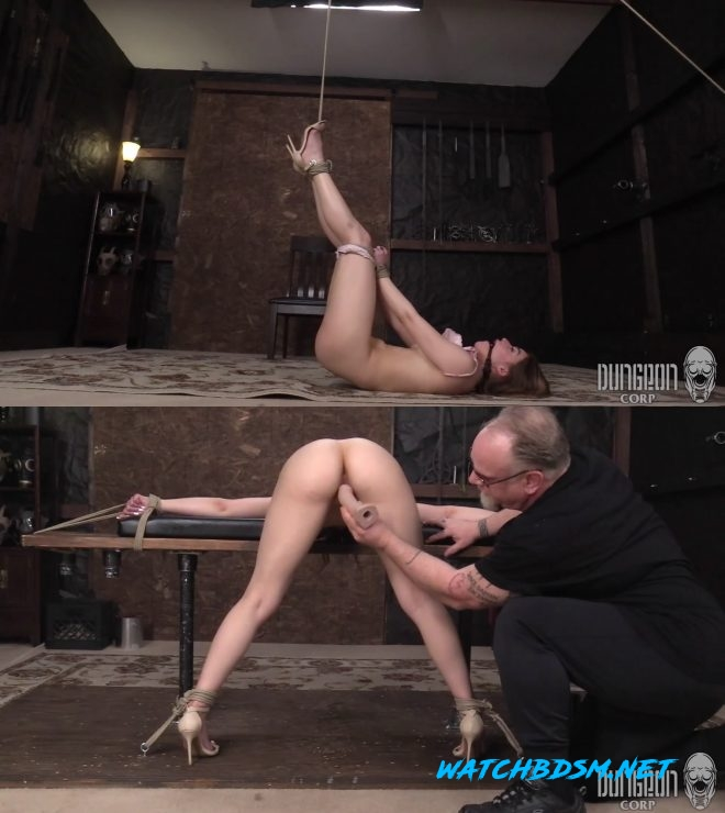 Kenzie Madison - The Slave and Her Suffering Art - FullHD - Dungeon Corp