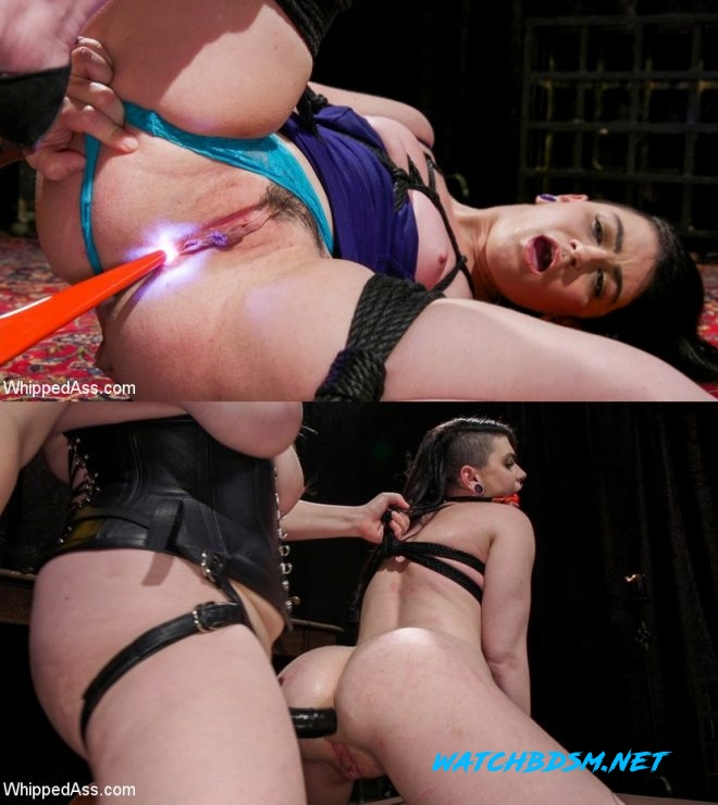 Aiden Starr, Lydia Black - Lydia Black is Aiden Starr's Pain Piggy - HD - WHIPPED ASS