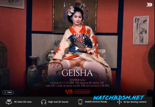 Geisha in 180° X (Virtual 31) – (4K) – VR - UltraHD/2K - X Virtual, Creative Porn