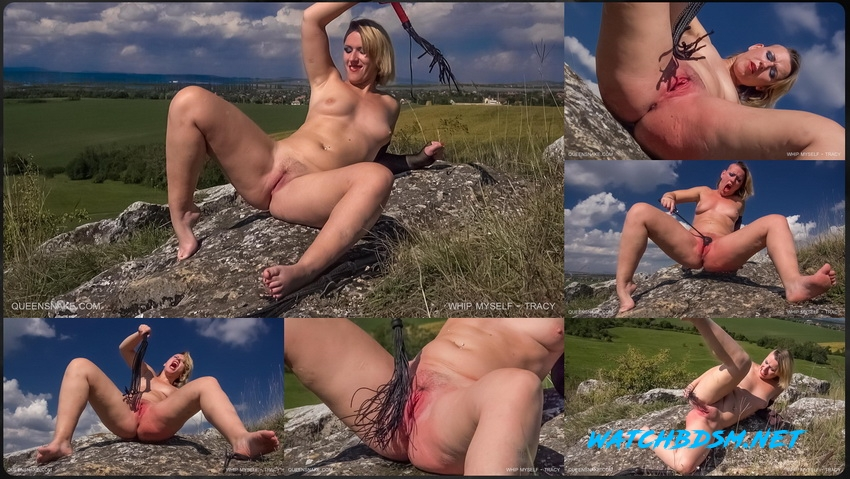 WHIP MYSELF - Hard and Wildly Fucked in BDSM - FullHD - QueenSnake