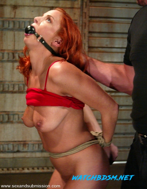 Mark Davis, Gabriella Banks - Hard and Wildly Fucked in BDSM - SD - SexAndSubmission