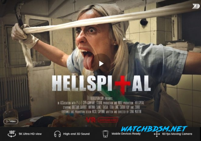 Hellspital in 180° X (Virtual 39) – (4K) – VR - UltraHD/2K - X Virtual, Horror Porn