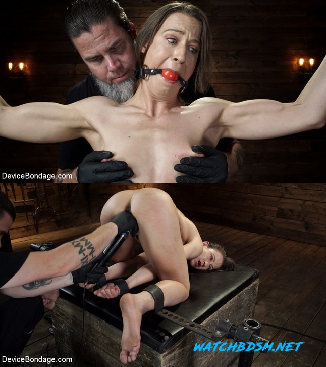 Cheyenne Jewel, Cheyenne Jewel - Body Builder is Restrained in Diabolical Devices - HD - DEVICE BONDAGE