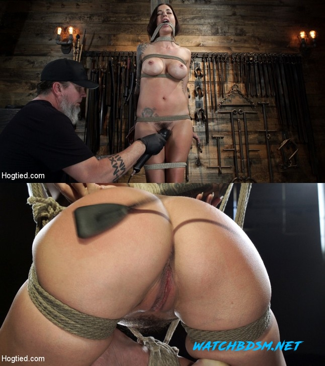 Gia DiMarco - Gia DiMarco is Back! Grueling Bondage And Mind-Blowing Orgasms - HD - HOGTIED