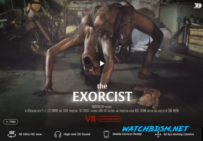 The Exorcist in 180° (X Virtual 41) – (4K) – VR - UltraHD/2K - X Virtual, Horror Porn