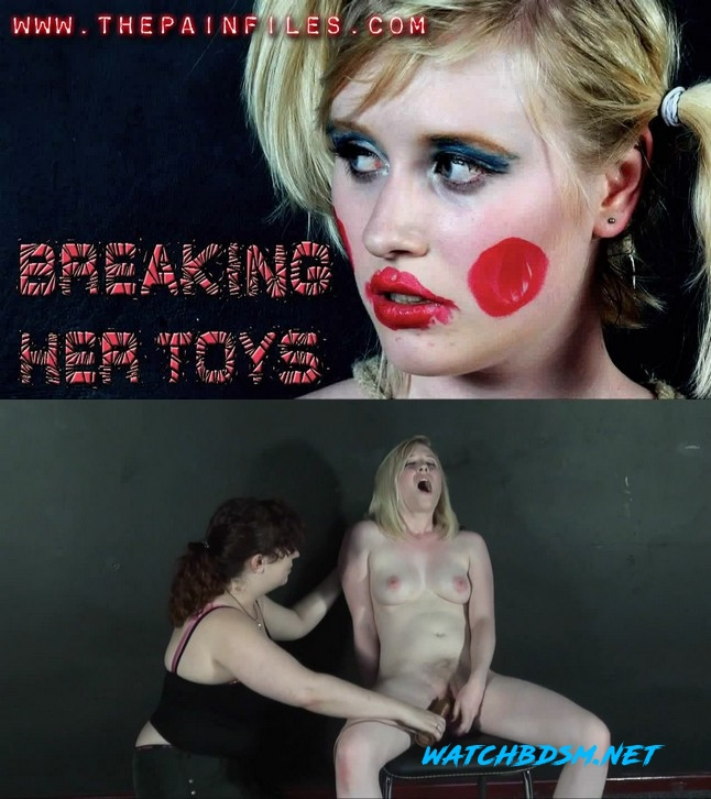 BDSM Videos and Sado Masochist Movies: Satine – Breaking Her Toys - HD - ThePainFiles.com