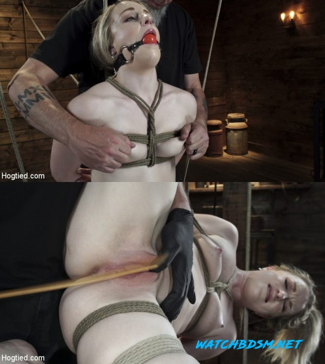 Kate Kennedy - Kate Kennedy is Brutalized in Extreme Bondage and Made to Cum - HD - HOGTIED