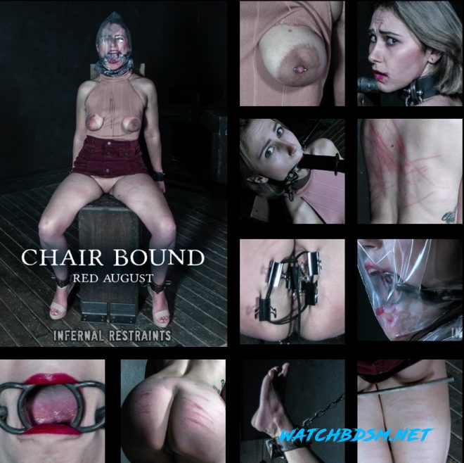 Red August - Chair Bound - Red August gets mounted to a chair. - HD - INFERNAL RESTRAINTS