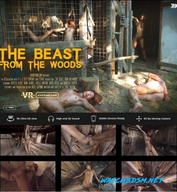 The beast from the woods - UltraHD/2K - X Virtual, Horror Porn