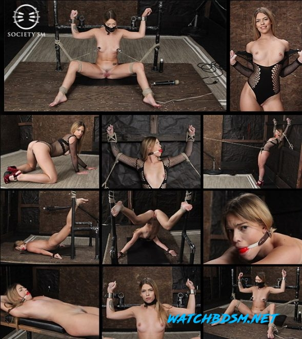 Dungeon Corp/SocietySM Leah Lea: Hot Bound Blond - SD