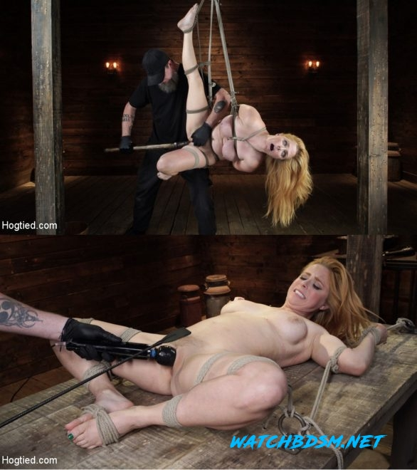Penny Pax - Blue-Eyed Redhead Damsel Tormented in Strict Bondage - HD - HOGTIED