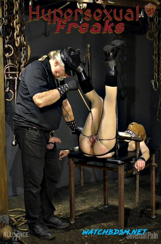 Hypersexual Freaks - Severe Torture and Humiliation of Bound Women - FullHD - SensualPain