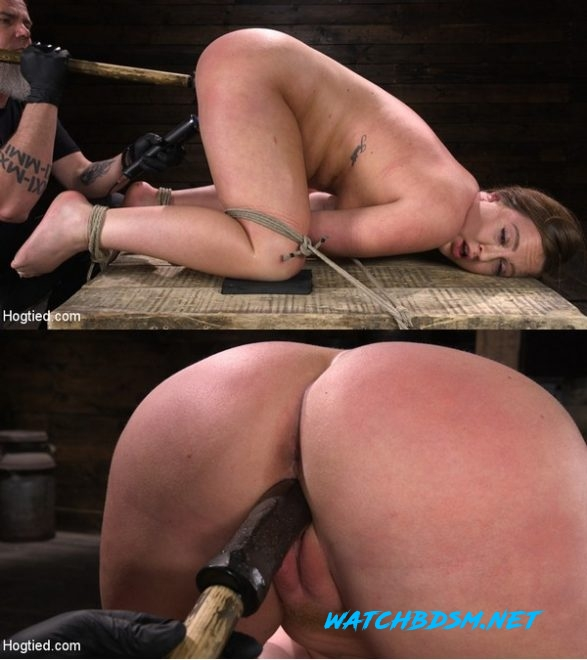 Maddy O'Reilly - Maddy O'Reilly: Naughty Slut Submits to The Pope - HD - HOGTIED