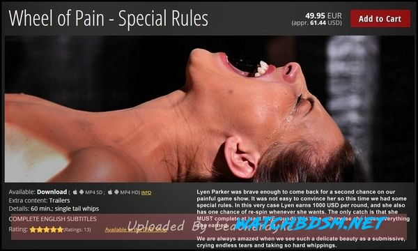 Special Rules - Wheel of Pain - HD