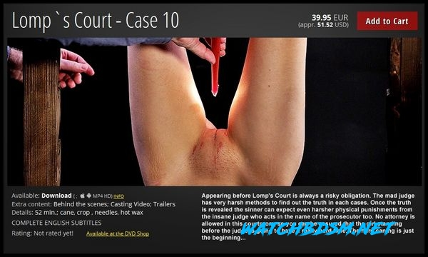 Lomp`s Court – Case 10 - FullHD