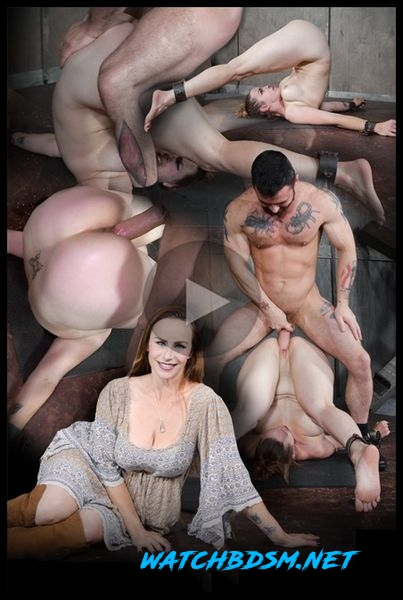 Bella Rossi is brutally fucked while bound in a extreme pile driver, huge cock massive orgasms! - HD