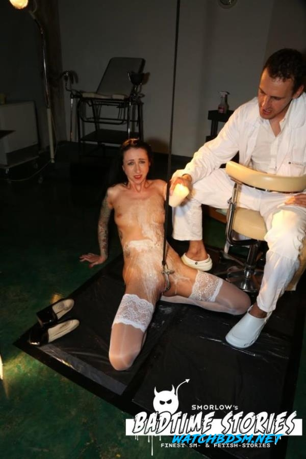 Stella Star - Piss play and BDSM action with German slave Stella Star and doctors PT 2 - FullHD - PorndoePremium