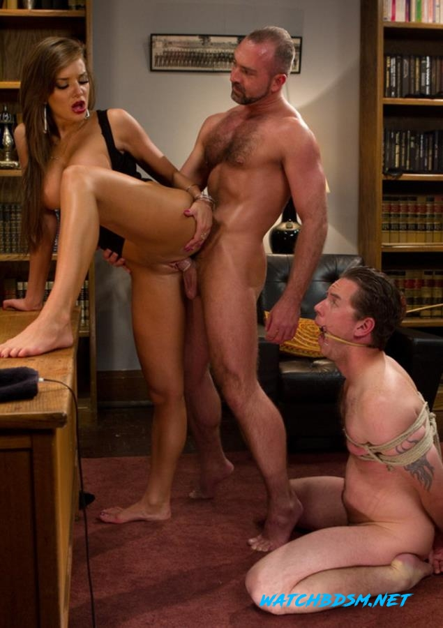 Nika Noire, Josh West, Vern Hopkins - Sadistic wife cuckolds husband with tantric sex specialist. - HD - DivineBitches
