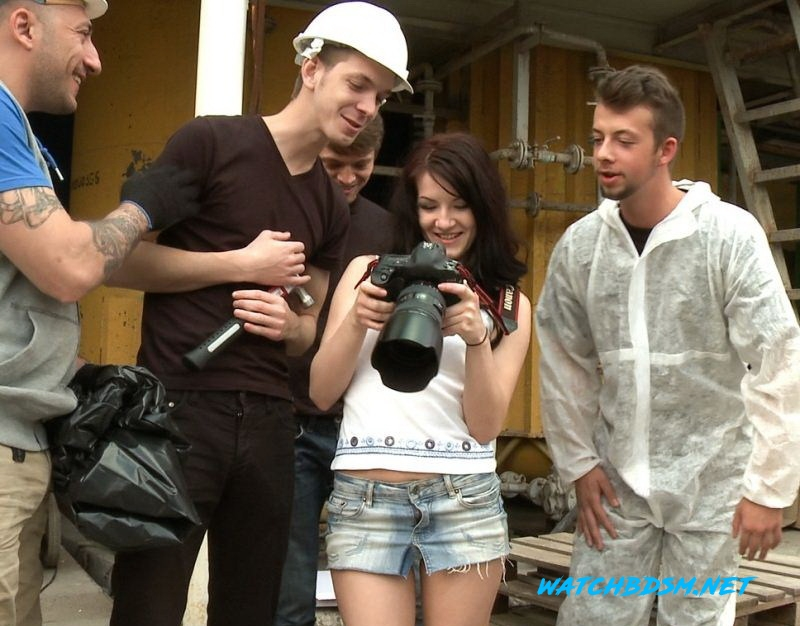 Lina - The Perfect Picture - Tiny Russian Girl Ganbanged, Two Dicks in Ass - HD - BoundGangBangs