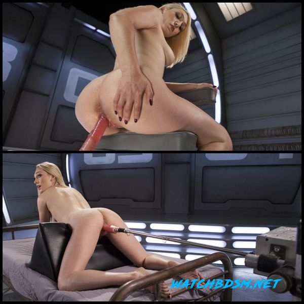 Hot Blond Lily LaBeau is Machine Fucked - HD
