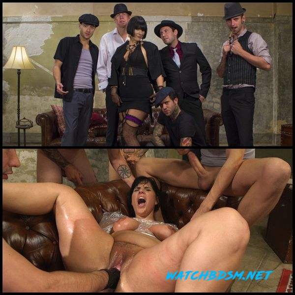 Agent Airtight: Slutty Fed Takes Five Hard Cocks In All Her Holes - HD