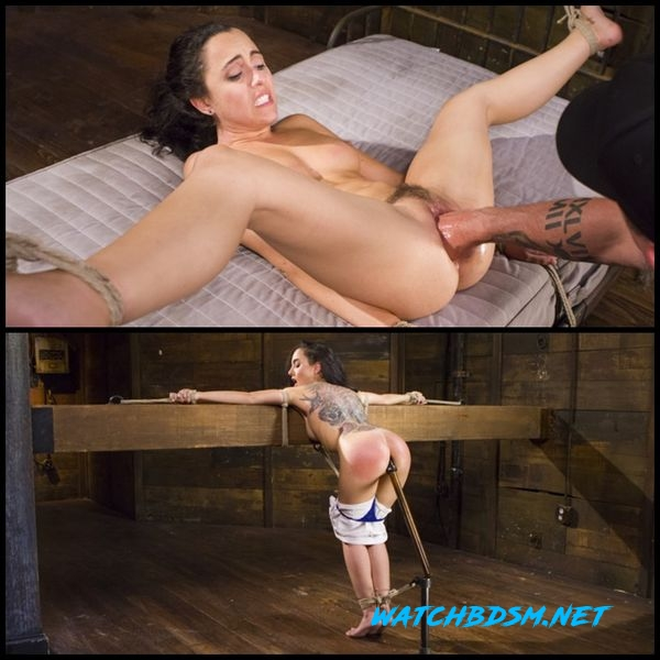 College Girl/Pain Slut Suffers in EXTREME Bondage & Brutal Domination - HD
