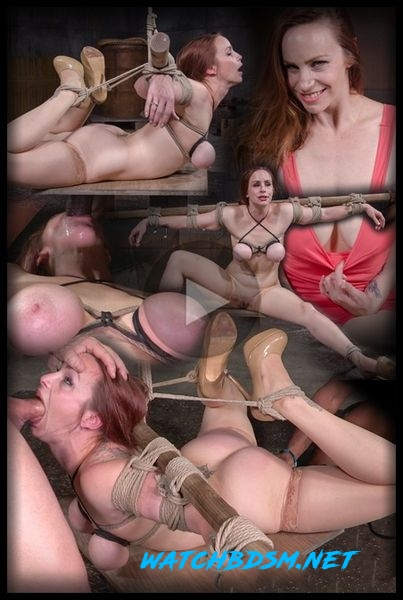 Bella Rossi - Busty Bella Rossi BaRS show with epic BBC deepthroat, tited tits and strict challenging bondage - HD