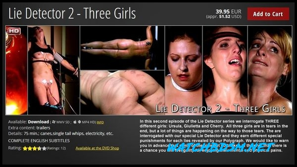 Lie Detector 2 – Three Girls - HD