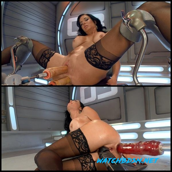 Veronica - squirts non-stop on Fucking Machines – BDSM, Squirting - HD