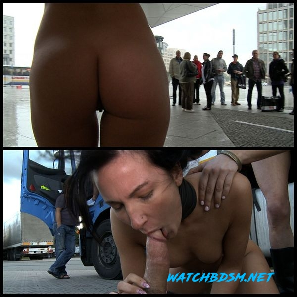Super Hot Euro Babe Disgraced in the Streets – BDSM, Domination, Hardcore - HD