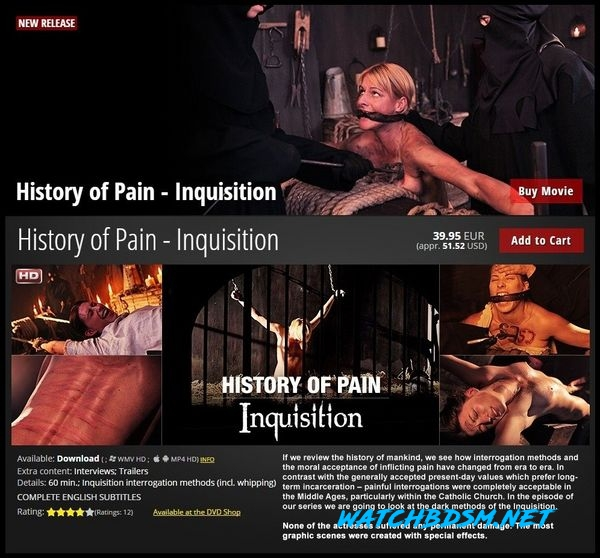 Inquisition - History of Pain - HD