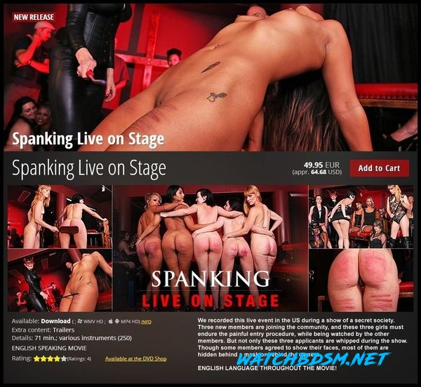 Spanking Live on Stage - HD