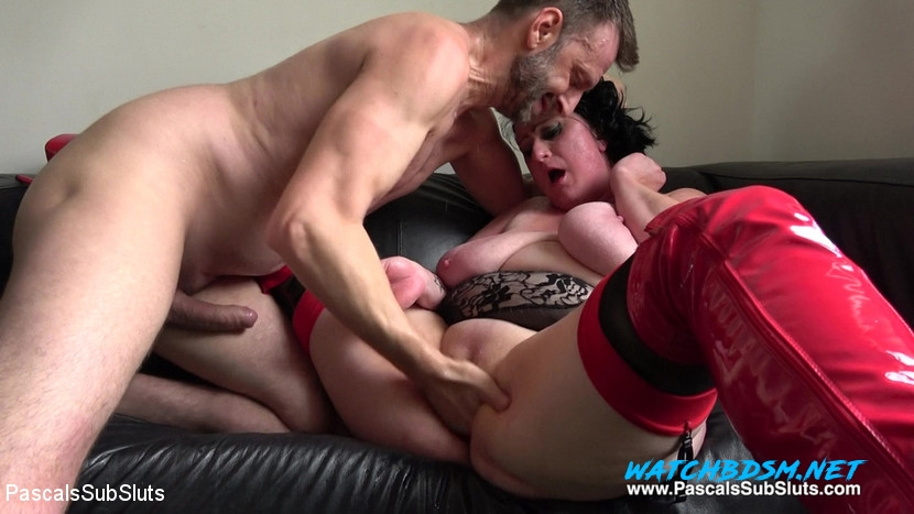 Curvy Gal, Pascal White, Andy Baxter - BDSM-Hard Fucked Gangbang - HD - PascalsSubSluts