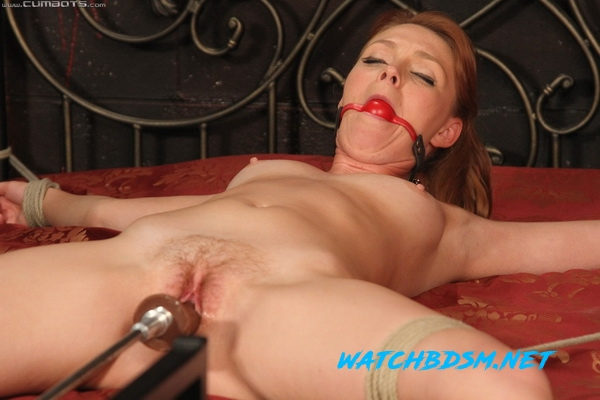 Marie McCray - Struggle Then Fucked - HD - CumBots