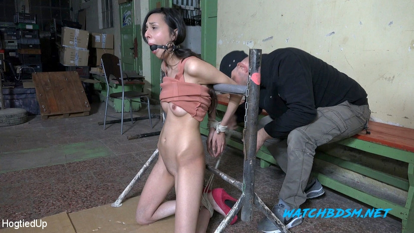Ashley Ocean, Arjan - BDSM - HD - HogtiedUp