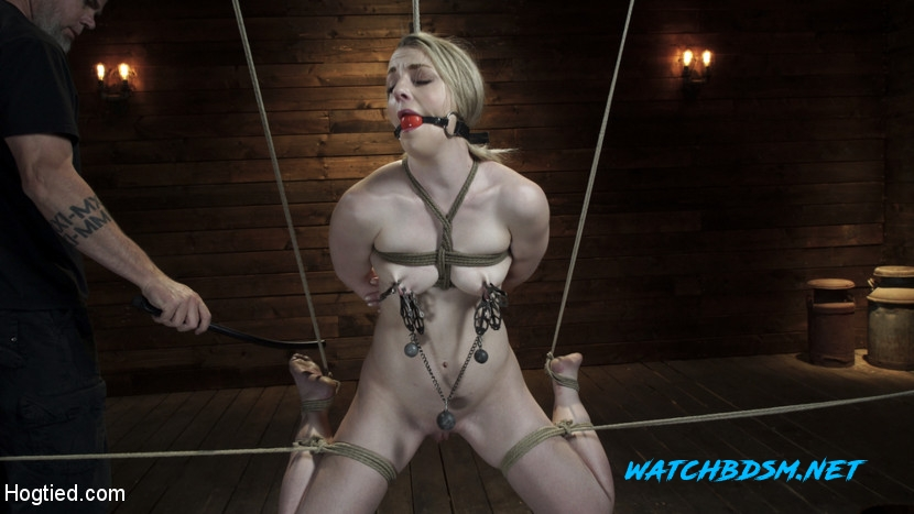Kate Kennedy - BDSM - HD - Hogtied