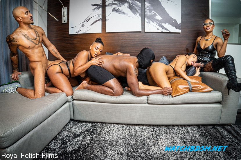 King Noire, Jet Setting Jasmine, Sarah Lace, Avery Jane, The Boy - BDSM - FullHD - RoyalFetishFilms