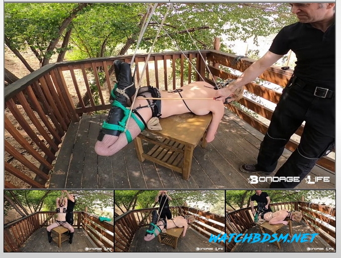Damon Pierce - Tied On The Deck - HD - Bondage Life