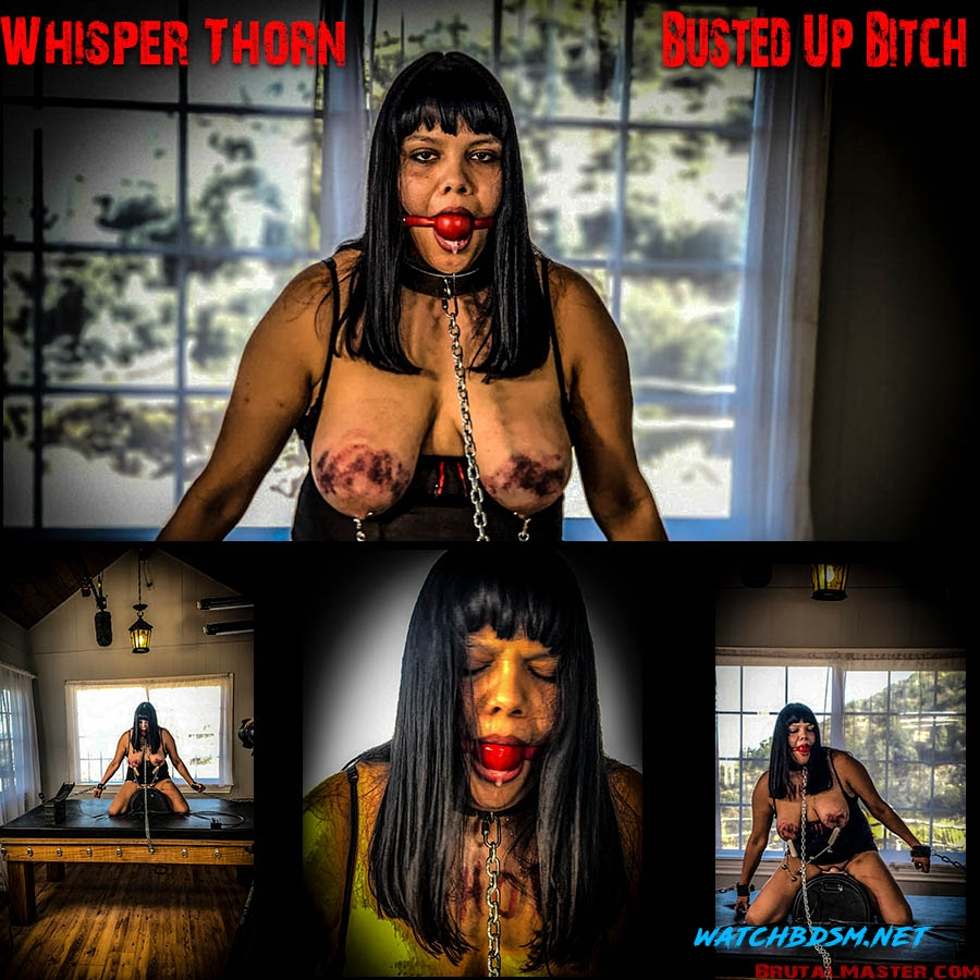 Whisper Thorn Busted Up Bitch - FullHD - BrutalMaster