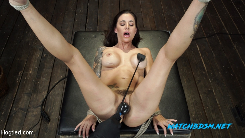 Gia DiMarco - BDSM - HD - Hogtied